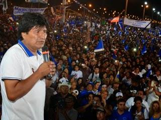 Gustavo Pedraza analizando la victoria del M.A.S. en Santa Cruz