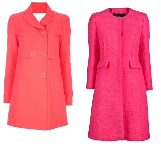 A Blonde Ambition: Trend Watch Wednesday: {Pink Coats and Polka Dots}