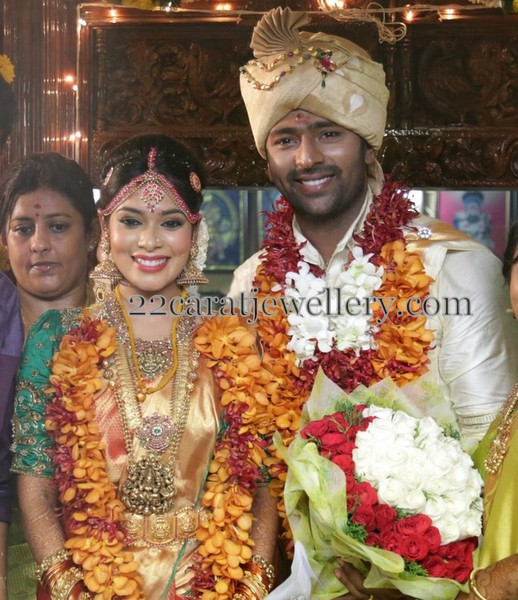 Actor Shantanu Keerthi Wedding