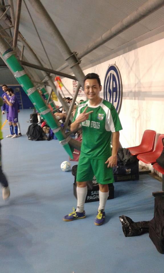 Il sorriso di Rodrigo Inoue