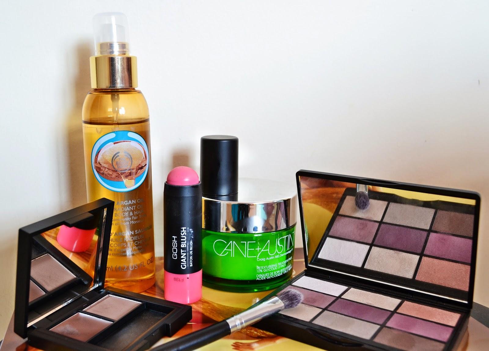 September 2014 Favourites ft. The Body Shop, Sleek MakeUp, GOSH Cosmetics, Cane+Austin & Crown Brush - Aspiring Londoner