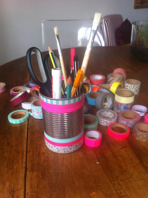 pot-à-crayons-masking-tape-boite-de-conserve