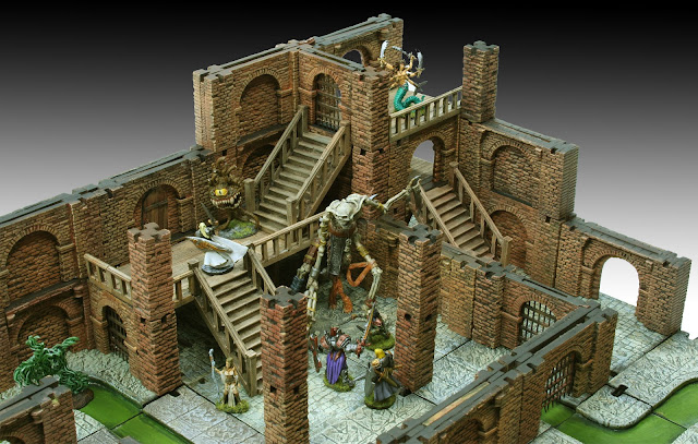 Wargame News And Terrain Manorhouse Workshop Plastic