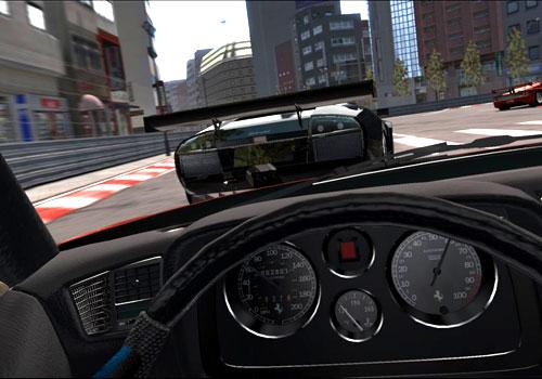 Momento del juego Project Gotham Racing 3