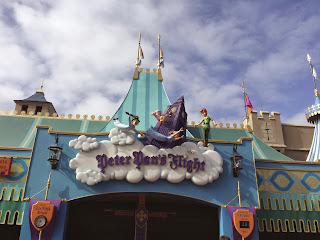 Peter Pan's Flight ride, Magic Kingdom, Walt Disney World