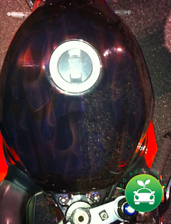 half and half shot. GSXR Gas tank