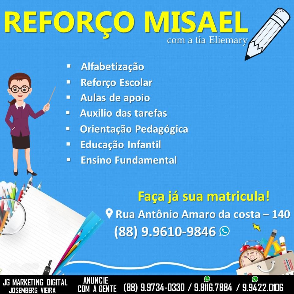 REFORÇO MISAEL