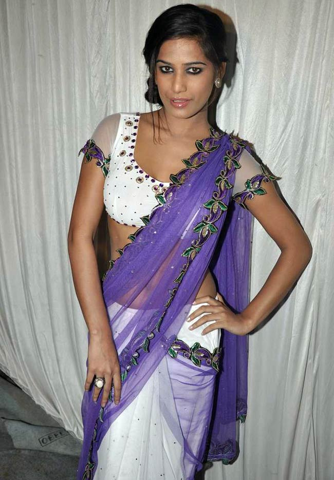 Actress poonam pandey saree photos