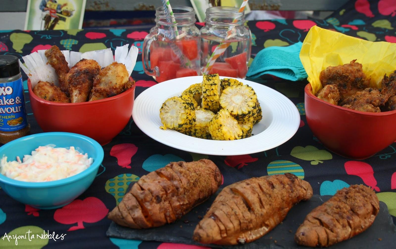 Picnic food from Anyonita Nibbles