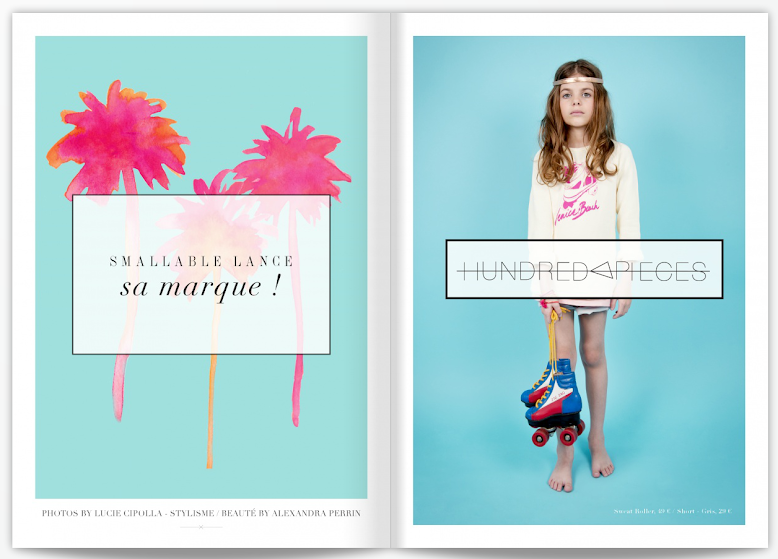 HUNDRED PIECES - MAGAZINE SMALLABLE PRINTEMPS 2013