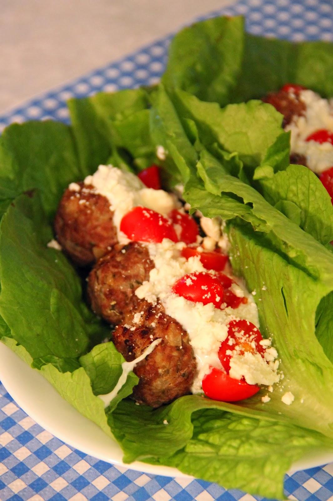 Jo and Sue: Greek Gyro Lettuce Wraps