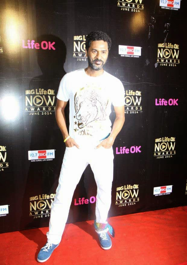 Prabhu Deva At Life Ok Now Awards 2014