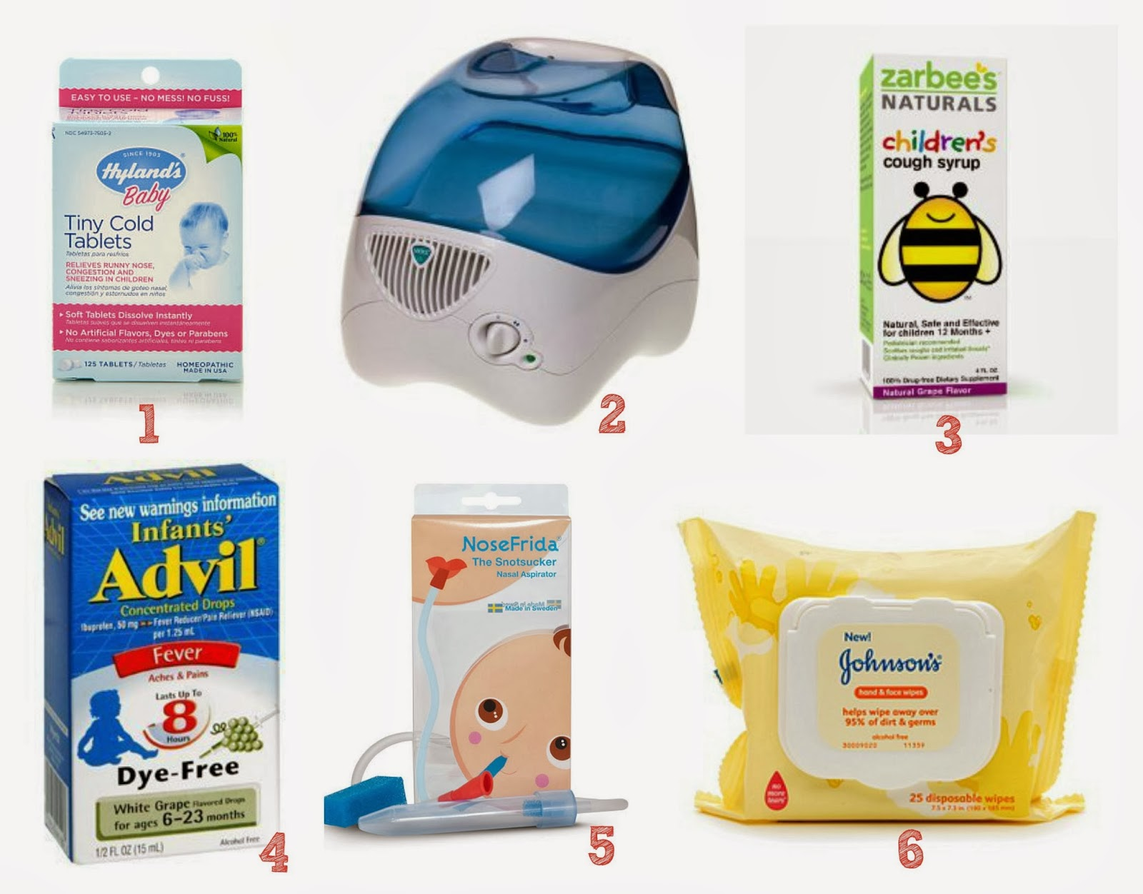 Wife Mommy Me: Sick Baby Must Haves #10487E