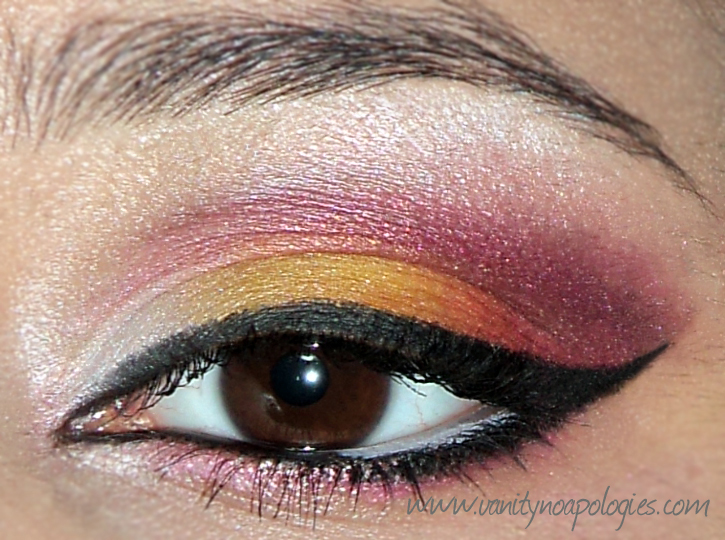 The Beauty And The Cheap Vna Summer Eye Makeup Contest Entry 1