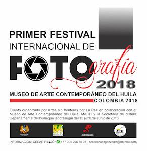 Primer festival internacional de fotografía MACH Colombia 2018
