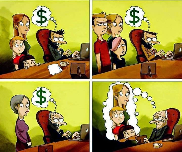 Harsh Reality of today's corporates life!