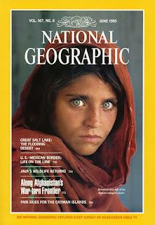 Afgan Girl by Steve McCurry