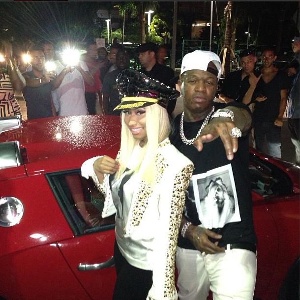 Nicki Minaj hat