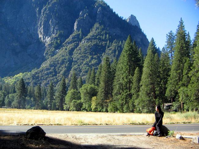 Yuri em Yosemite