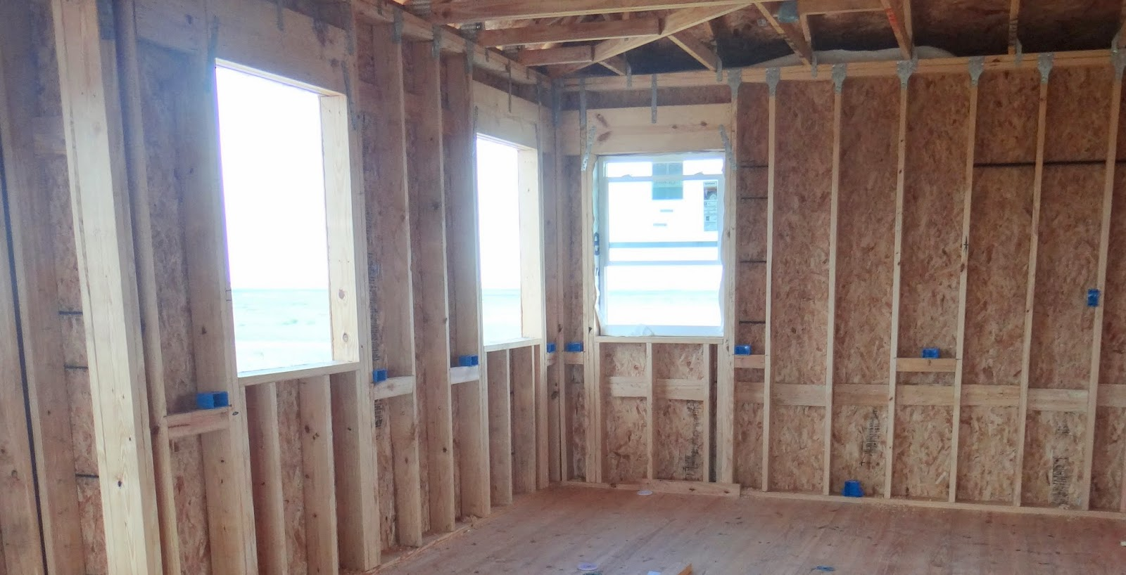Sweet Home Mustang Island: Rough Wiring, and More Siding