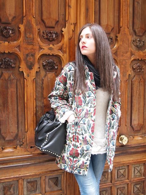 Zara oversize coat