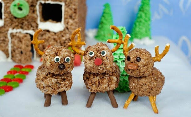 Hot Cocoa Krispies Reindeer, Cute As a Fox