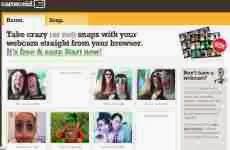 Cameroid: permite capturar online fotos con una webcam y aplicarles divertidos efectos de distorsión