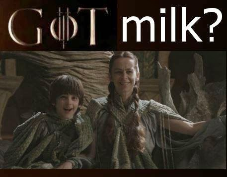 game of thrones memes got milk