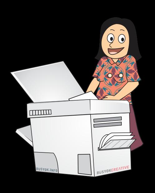 copy machine operator