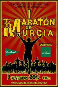 Maratón de Murcia 2013.