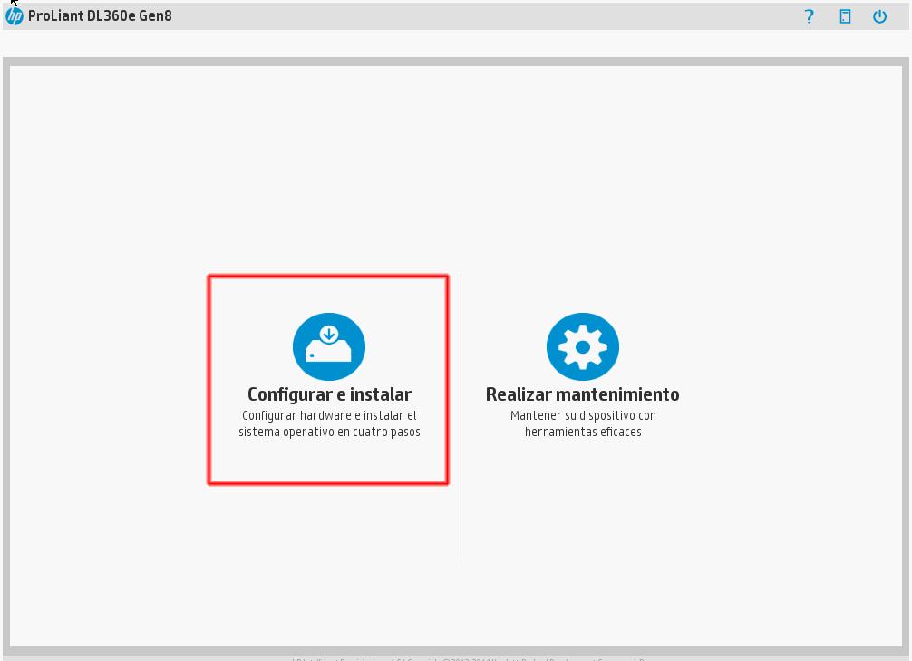 opción Configurar e instalar.