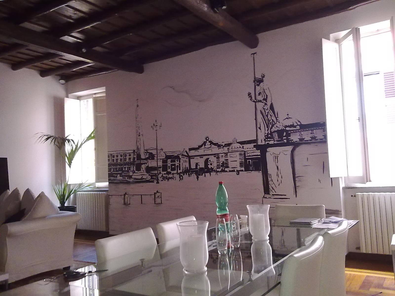 Decorazioni artistiche di francesco ierna decorazioni su pareti e porte a vetro - Decorazioni su pareti ...