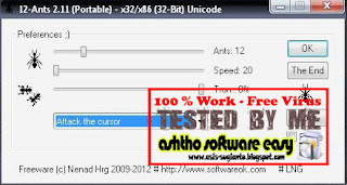 12 Ants 2.11 - Semut Di Desktop Komputer