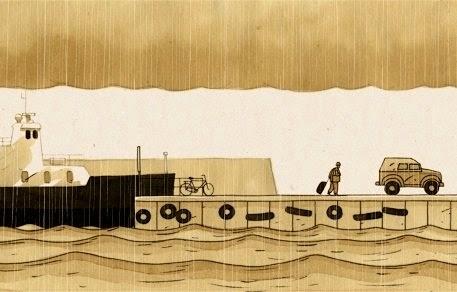 59 SEMINCI. Sección Oficial. Crítica de 'Lietus dienas' ('Días de lluvia'): Evocación animada del pasado