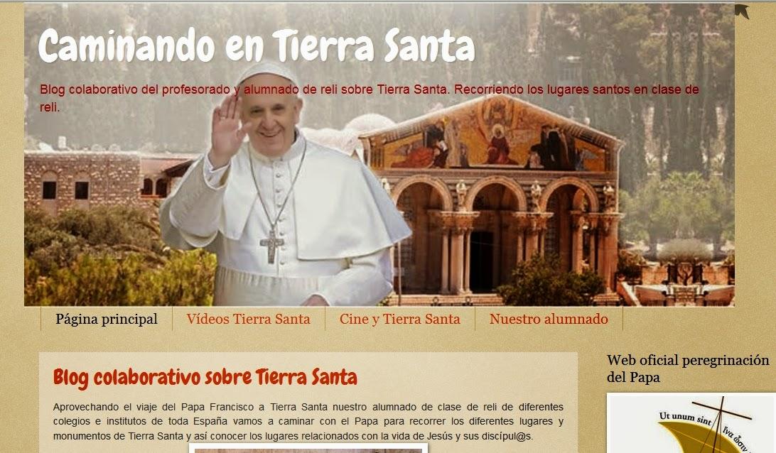 http://caminandoentierrasanta.blogspot.com.es/