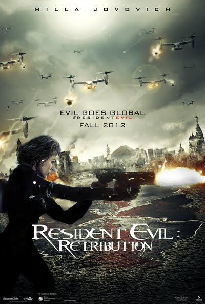 Resident Evil Retribution Movie Posters