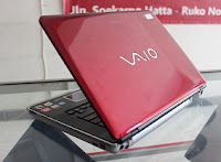 jual laptop bekas sony vaio vgn cr353