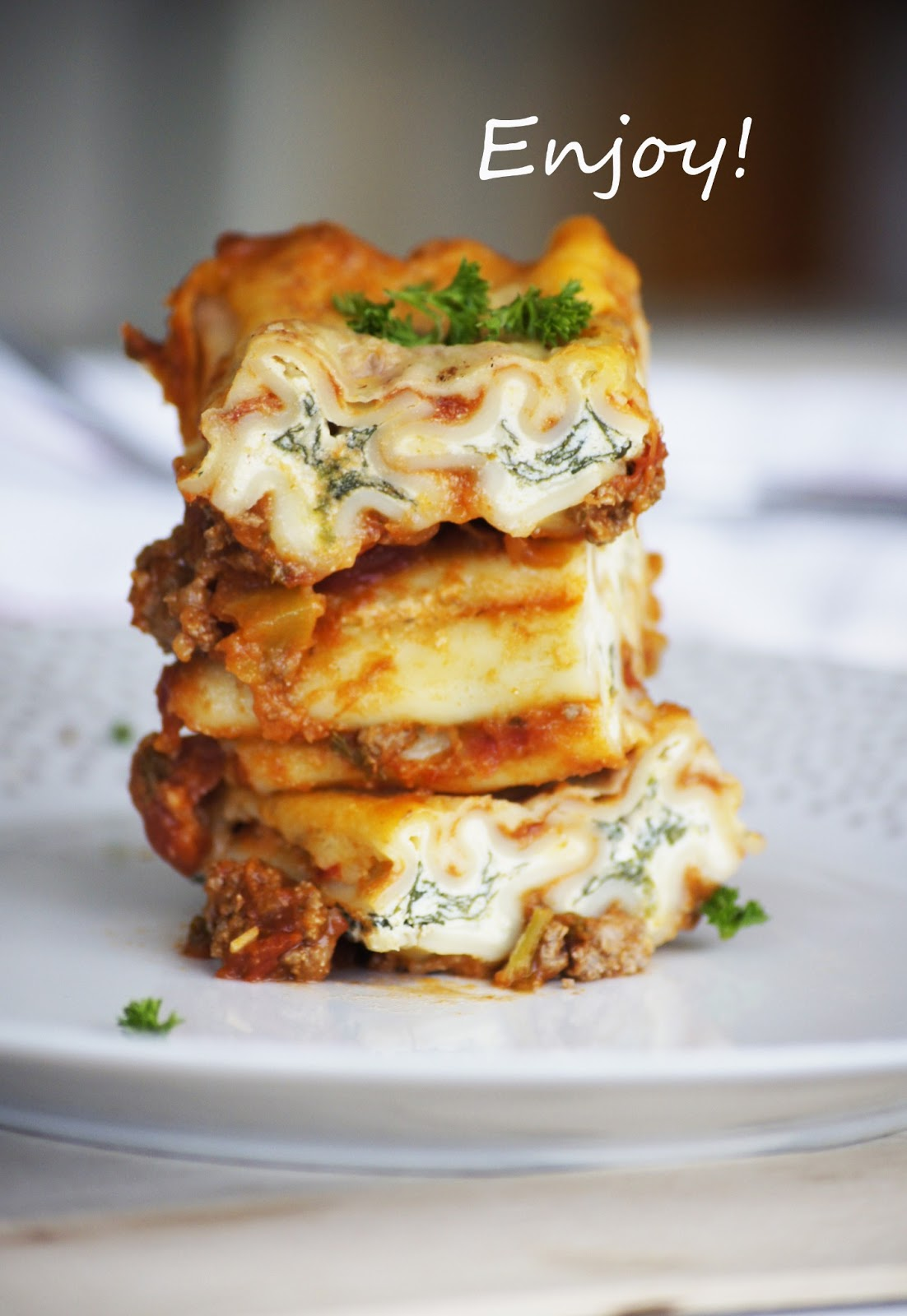spinach cannelloni, lasagne, lasagna recipe, italian dishes