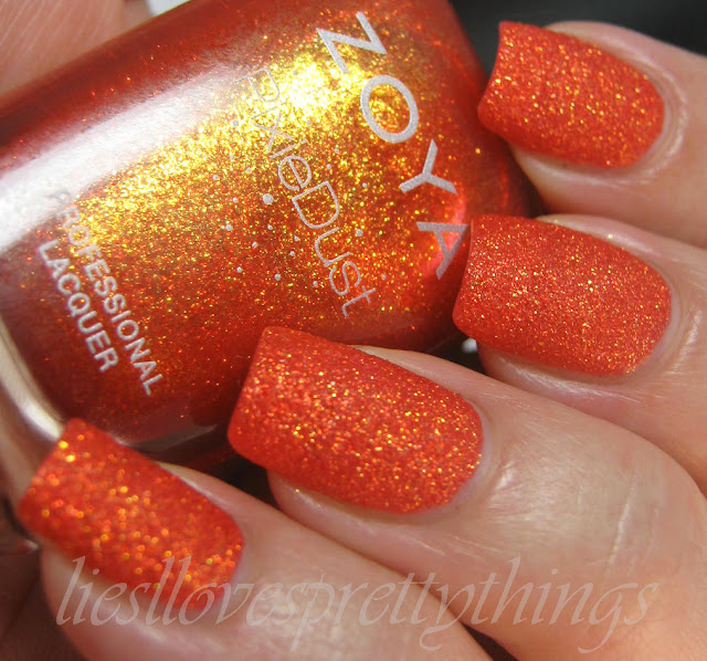 Zoya Fall PixieDust Dhara swatch and review