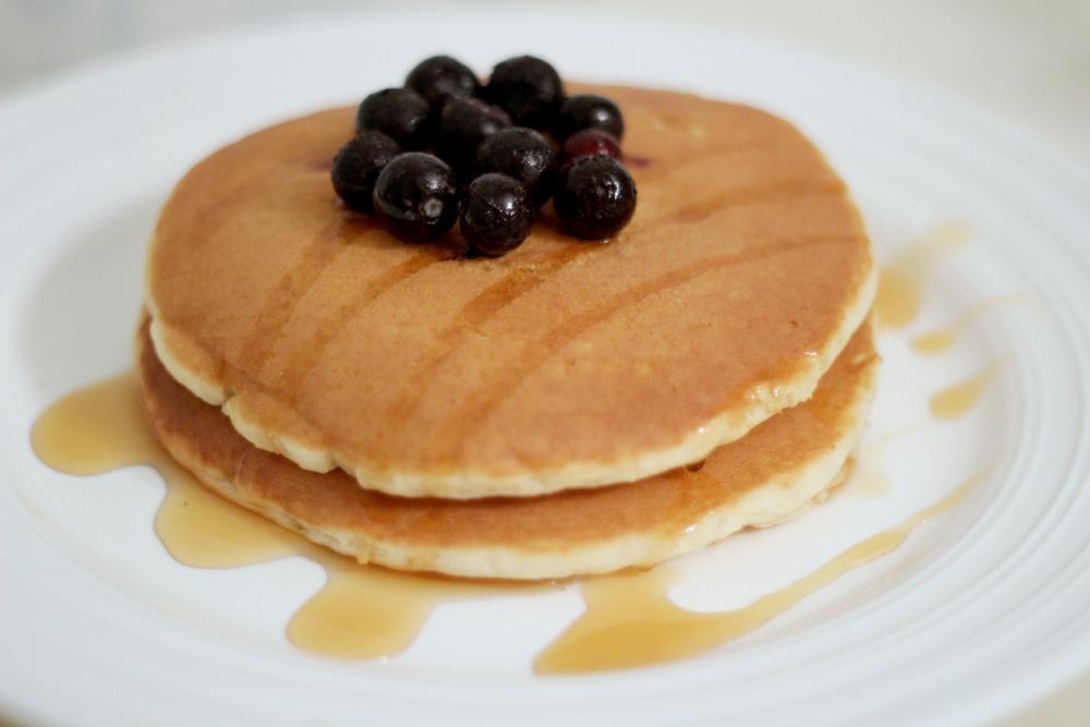 dairy free banana pancakes