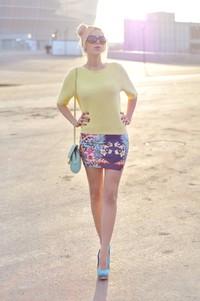 Pull and bear skirt heels