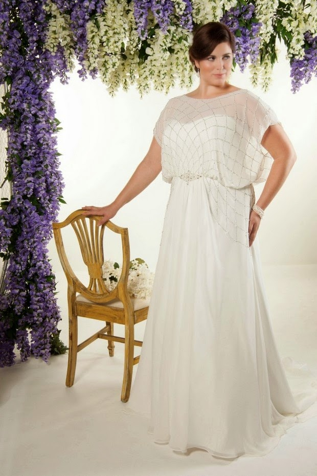 2nd Wedding Dresses For Plus Size Brides | Prom gowns and wedding ...
