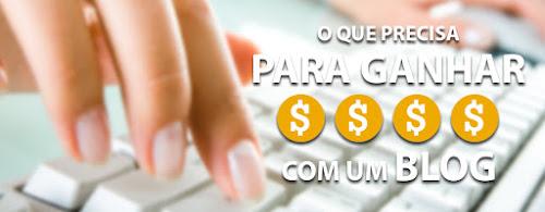 Vire um Especialista em Ganhar Dinheiro Com Blogs - Ebook Grátis