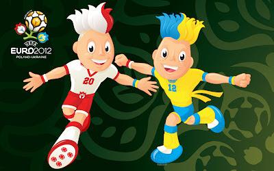Wallpaper Maskot EURO 2012