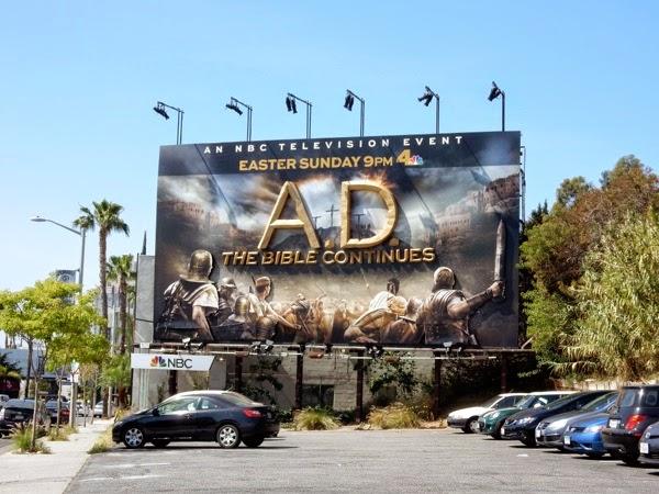 A.D. The Bible Continues 3D billboard