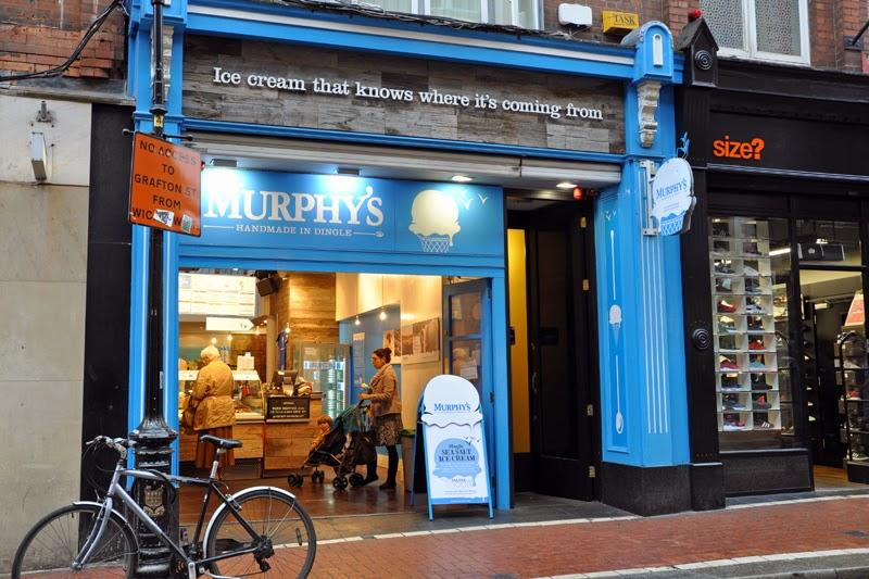 Irland 2014 - Tag 7 | Dublin | Murphy's Ice Cream