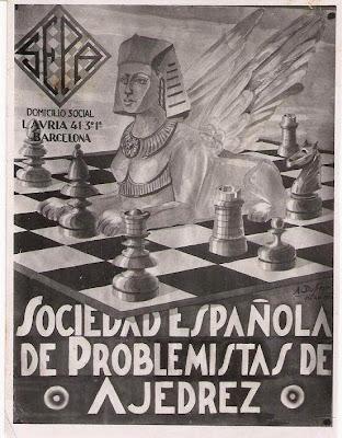 Cartel de la SEPA en el Club Ajedrez Barcelona