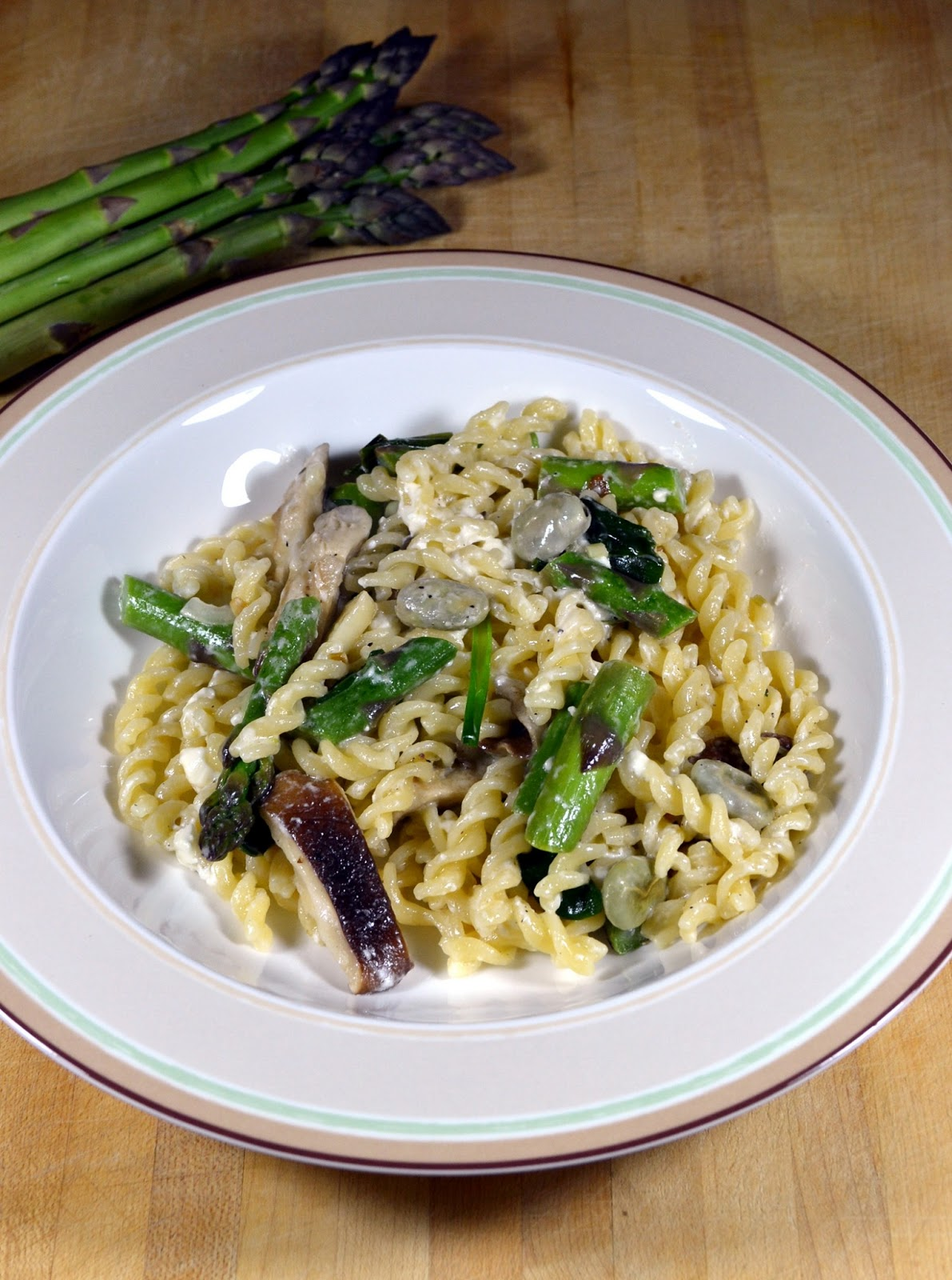 Pasta with Spring Vegetables ~ New York Food Journal