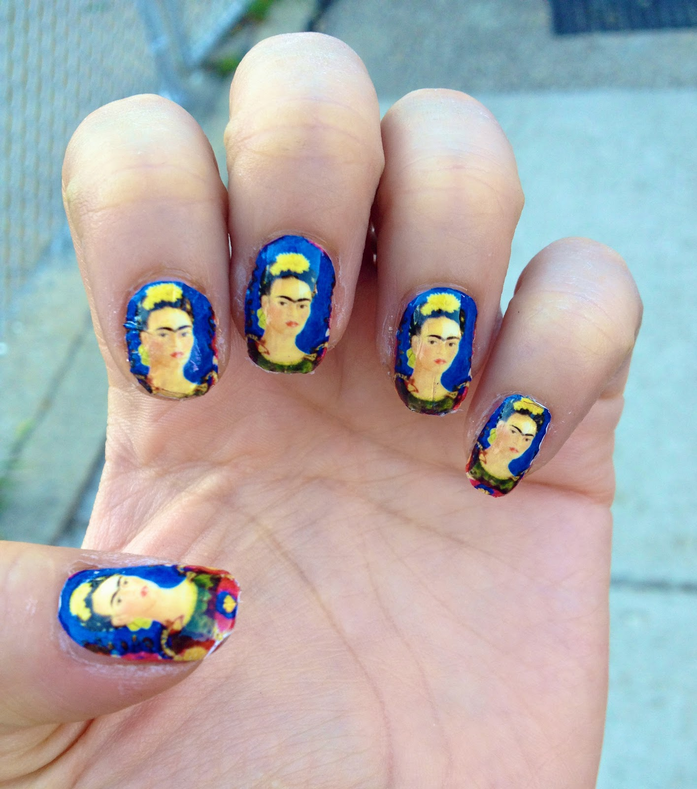 Mano y Metal | Lifestyle Blog: Manicure Monday: Frida Nail Decals