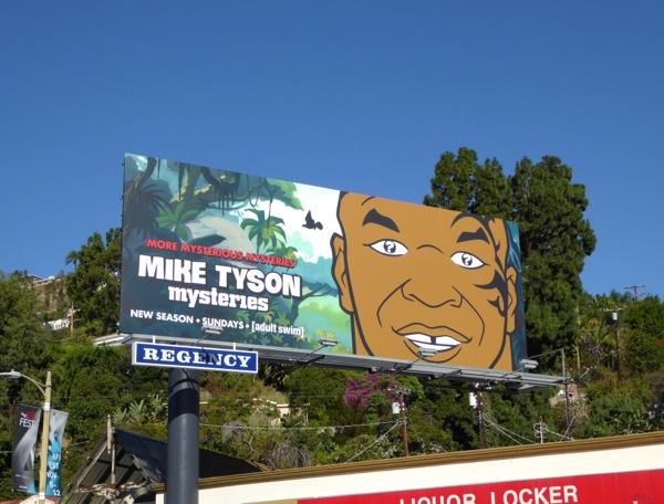 Mike Tyson Mysteries season 2 billboard